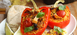 Healthy Stuffed Peppers